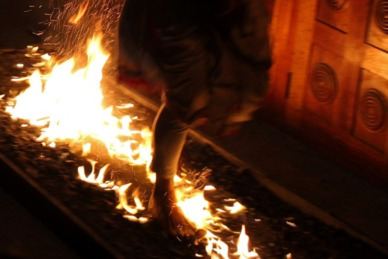 fire-walking
